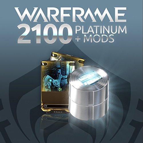 Warframe: 2100 Platinum + Dual Rare Mods - PS4 [Digital Code] (Warframe Platinum compare prices)
