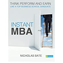 Instant MBA (       UNABRIDGED) by Nicholas Bate Narrated by Radrigo Davies