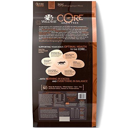 Wellness CORE Grain Free Original Turkey & Chicken Natural Dry Dog Food, 26-Pound Bag_Image4