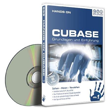 Hands On Cubase Vol. 1 - Grundlagen und Einführung (PC+MAC)