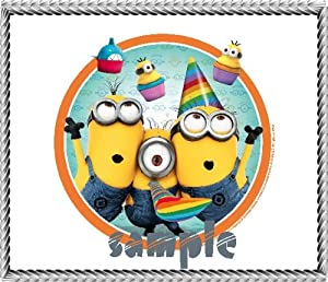 minions birthday cake toppers