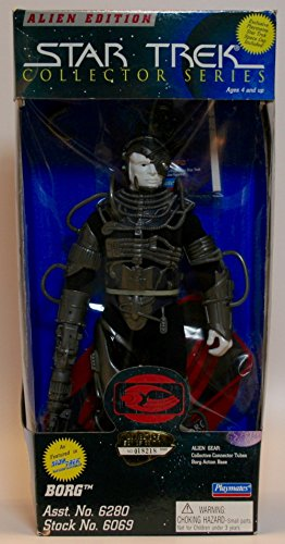 Alien Edition Star Trek Collector Series Borg 9 Inch Figure - 1