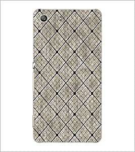 SONY XPERIA M5 DIAMOND PATTERN Designer Back Cover Case By PRINTSWAG
