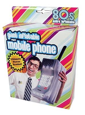 Original Aufblasbar 80s Handy Telefon Riesig Mobil Phone Grau Retro Kostm 80iger Jahre 1980 Fasching Karneval bei aufblasbar.de