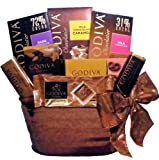 Delight Expressions™ Chocolate Delights Godiva Gourmet Food Gift Basket