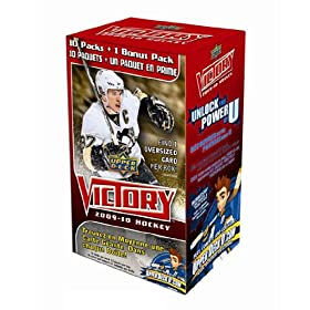 2009-10 Upper Deck Victory Hockey Trading Cards - Blaster Box