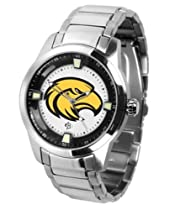 Southern Miss Golden Eagles USM NCAA Mens Titan Steel Watch