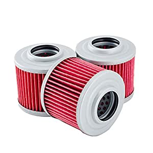 3 pack oil filters for can am commander 800r. Black Bedroom Furniture Sets. Home Design Ideas