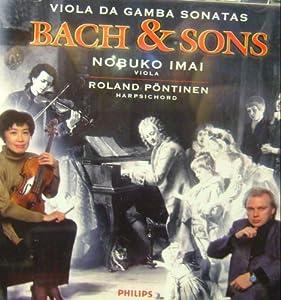 Bach & Sons: Viola Da Gamba Sonatas