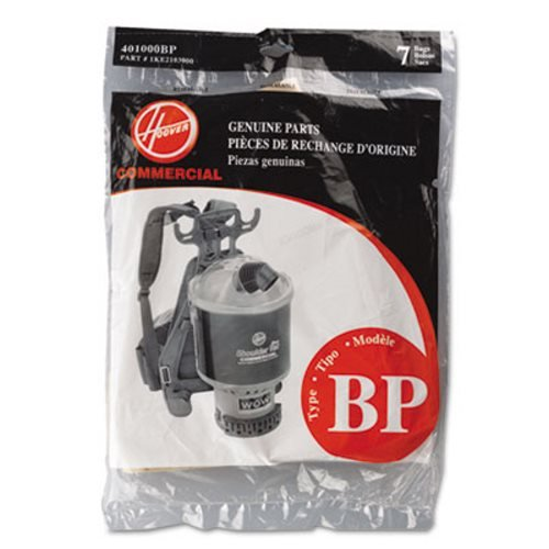 Hoover Shoulder Vac and Back Pack Type Bp Bags 7 Pk Part # 401000bp, 1ke2103000 (Royal Vacuum Backpack compare prices)