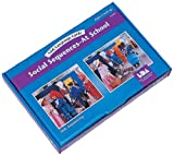 Social Sequences: At School Language Cards (Spanish, English, French and German Edition)
