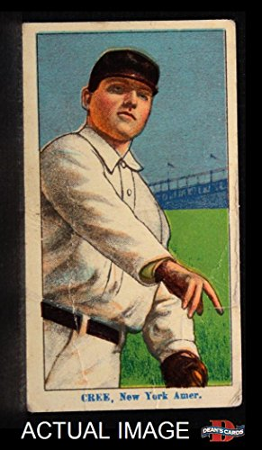 1910 Coupon T213 # 113 II Birdie Cree New York Yankees (Baseball Card) (Type 2) Dean's Cards 2 - GOOD