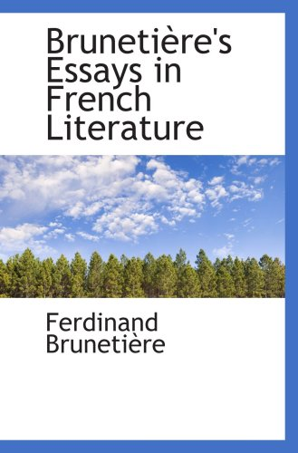 rhythms essays in french literature French essays – abortion laws in france – the way in which abortion has been viewed culturally has changed dramatically over time since the beginning of the twentieth century, attitude change began to liberalise alongside the social and cultural changes.