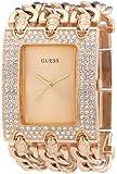 Guess - W0085L3 - Montre Femme - Quartz Analogique - Cadran Doré - Bracelet Acier Doré