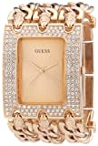 Guess Women's Quartz Watch Ladies Trend W0085L3 with Metal Strap