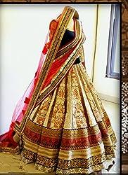 Saryu Multi Colour Bridal Lehenga Choli 2