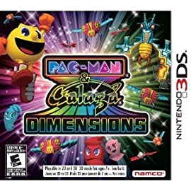 Pac-Man & Galaga Dimensions - Nintendo 3DS Game