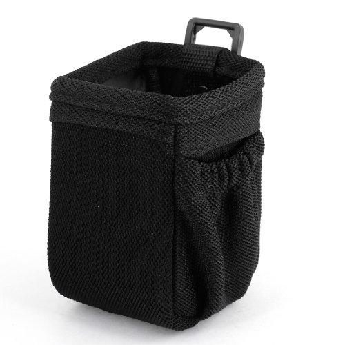 Black Auto Car Nylon Surface Air Vent Phone Pouch Storage Pocket Bag (Air Vent Pouch compare prices)