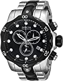 Invicta Men's 5727 Reserve Collection Black Ion-Plated and Stainless Steel Chronograph W