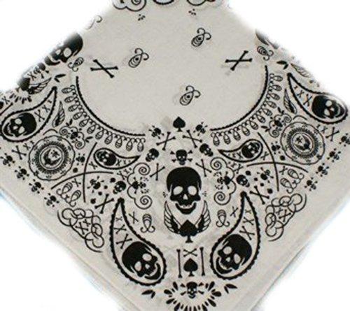 bandana-100-cotone-con-motivo-teschio-e-paisley-55-x-55-cm-bianco-nero-ideale-per-tutti-i-giorni-bik