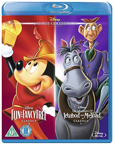 Fun & Fancy Free/ Ichabod and Mr Toad [Blu-ray] [Region Free] [UK Import]