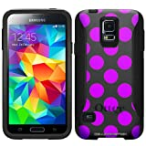 Otterbox Commuter Purple Polka Dots Case for Samsung Galaxy S5
