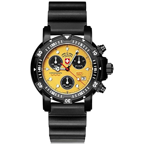 CX Swiss Military (by Montres Charmex SA) 2418_yellow- - Orologio da polso