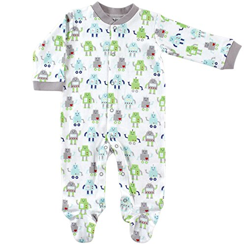 Luvable Friends Baby Snap Sleep N Play, Robot, 0-3 Months (Infant Robot Clothes compare prices)