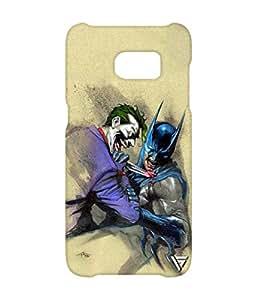 Vogueshell Joker and Batman Printed Symmetry PRO Series Hard Back Case for Samsung Galaxy S7