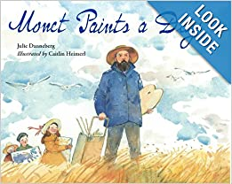 Great book for learning about Monet for preschool or early elementary! CC Cycle 2 Week 16