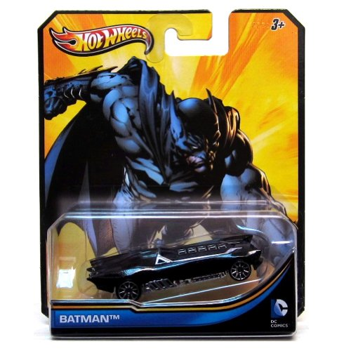 2012 Hot Wheels DC Comics BATMAN 1:64 Scale Collectible Die Cast Car - 1