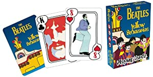 Beatles Yellow Submarine Playing Cards