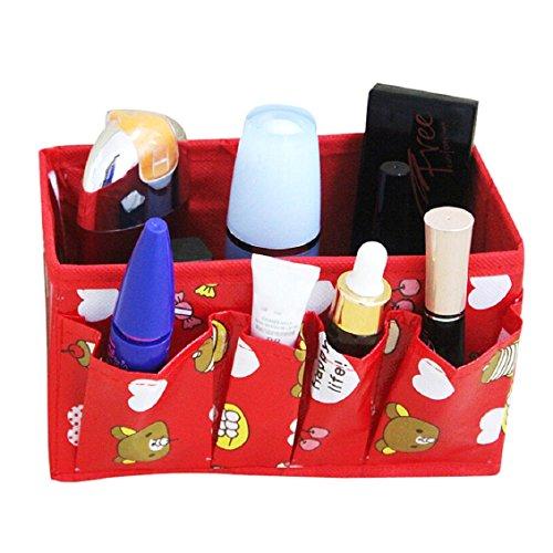 Malloom® Multifonction Maquillage Pliable Conteneur De Stockage Cas Cosmétique Organisateur