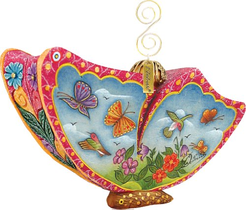 G. Debrekht Butterfly Sonat a Ornament, 2-1/2-Inch Tall, Also Functions as a Swivel Box, When Opened Reads May Each New Day Refresh Your Spirit (Welcome To Last Ch compare prices)