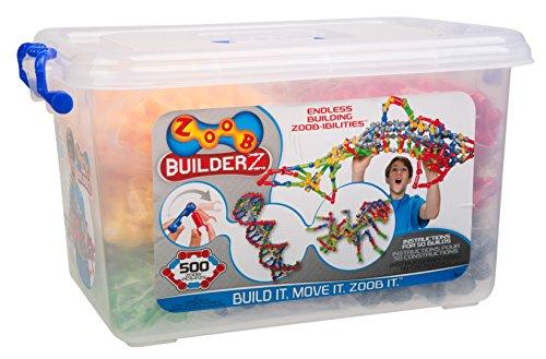 ZOOB BuilderZ 500 Piece Kit (Zoob Building Set compare prices)