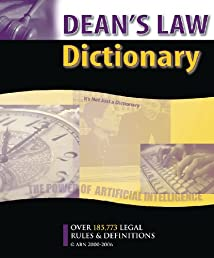 Dean's Law Dictionary Version 78