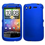Samrick Hard Hybrid Armour Shell Protection Case for HTC Desire S - Blue