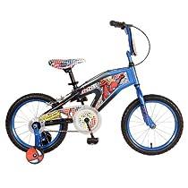 Spiderman Kids Bicycle, 16-Inch, Blue
