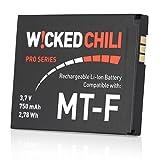Wicked Chili Li-Ion 750 mAh AVM C5 / C4 / M2 / MT-F 2,78 Wh