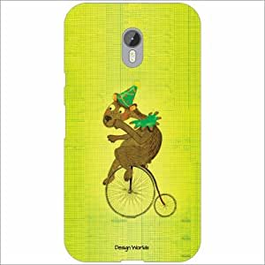 Design Worlds - Moto G (3rd Generation) Designer Back Cover Case - Multicol...