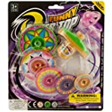 Kole Super Spinning Top With Extra Colorful Discs
