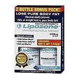 Lipozene - Amorphophallus Konjac Maximum Strength Fat Loss Supplement Bonus 2 bottles 1500 Mg. (30 caps each)