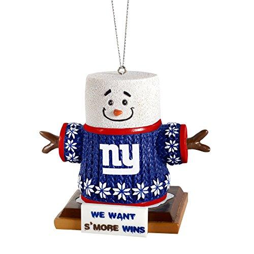 NFL Football Team Logo Smores Holiday Tree Ornament - Pick Team