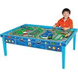 Learning Curve Thomas and Friends Wooden Railway Grow-With-Me Play Table