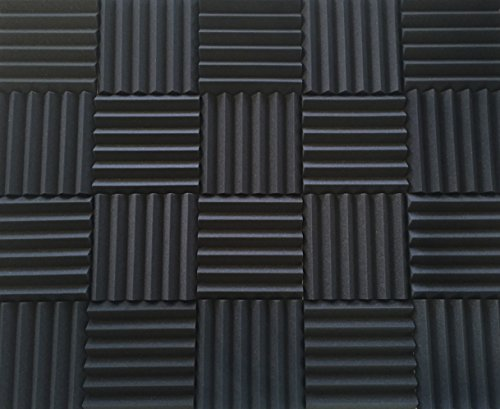 soundproofing-acoustic-studio-foam-kit-wedge-style-panels-2x12x12-tiles-4-pack-bundle-noise-deadenin