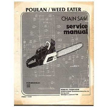 poulan bvm200vs service manual