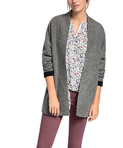 ESPRIT - im Oversize-Look, Cappotto da donna, grigio (medium grey 035), 48