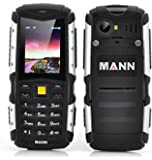 MANN ZUG S Telefono Cellulare TRI-PROOF RESISTENTE ALL'ACQUA IP67 WATERPROOF ANTIURTO ANTIPOLVERE DUAL SIM Batteria da 2570mAh