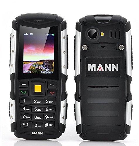 MANN ZUG S Telefono Cellulare TRI-PROOF RESISTENTE ALL'ACQUA IP67 WATERPROOF ANTIURTO ANTIPOLVERE DUAL SIM Batteria da 2570mAh