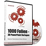 "1000 Folien - 3D PowerPoint Vorlagen - Farbe: passion.red: Moderne Pr�sentationen f�r  Business, Kommunikation, Marketing, Vertrieb, Verkauf, Sales, ... - f�r Microsoft PowerPoint und Apple Keynotevon ""Future Pace Media"""